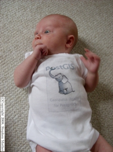 Nothing more appropriate for the baby elephant than to be displayed on a onesie.