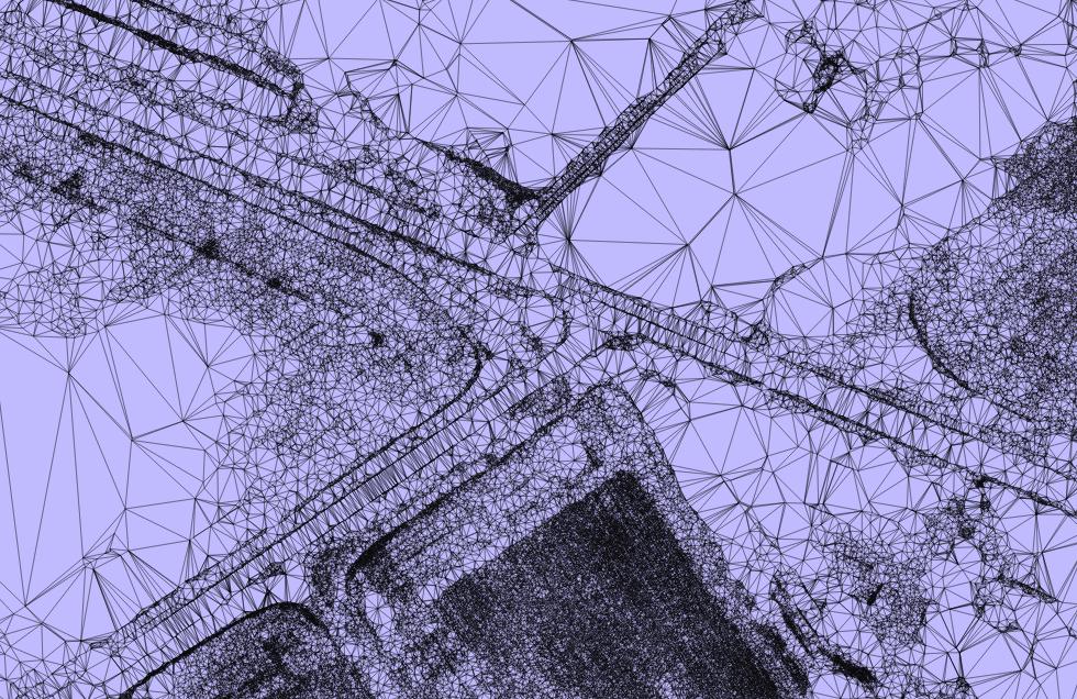 Image showing UAS derived TIN