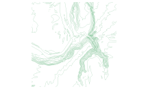 Series of simplifications to contours using generalized rasters