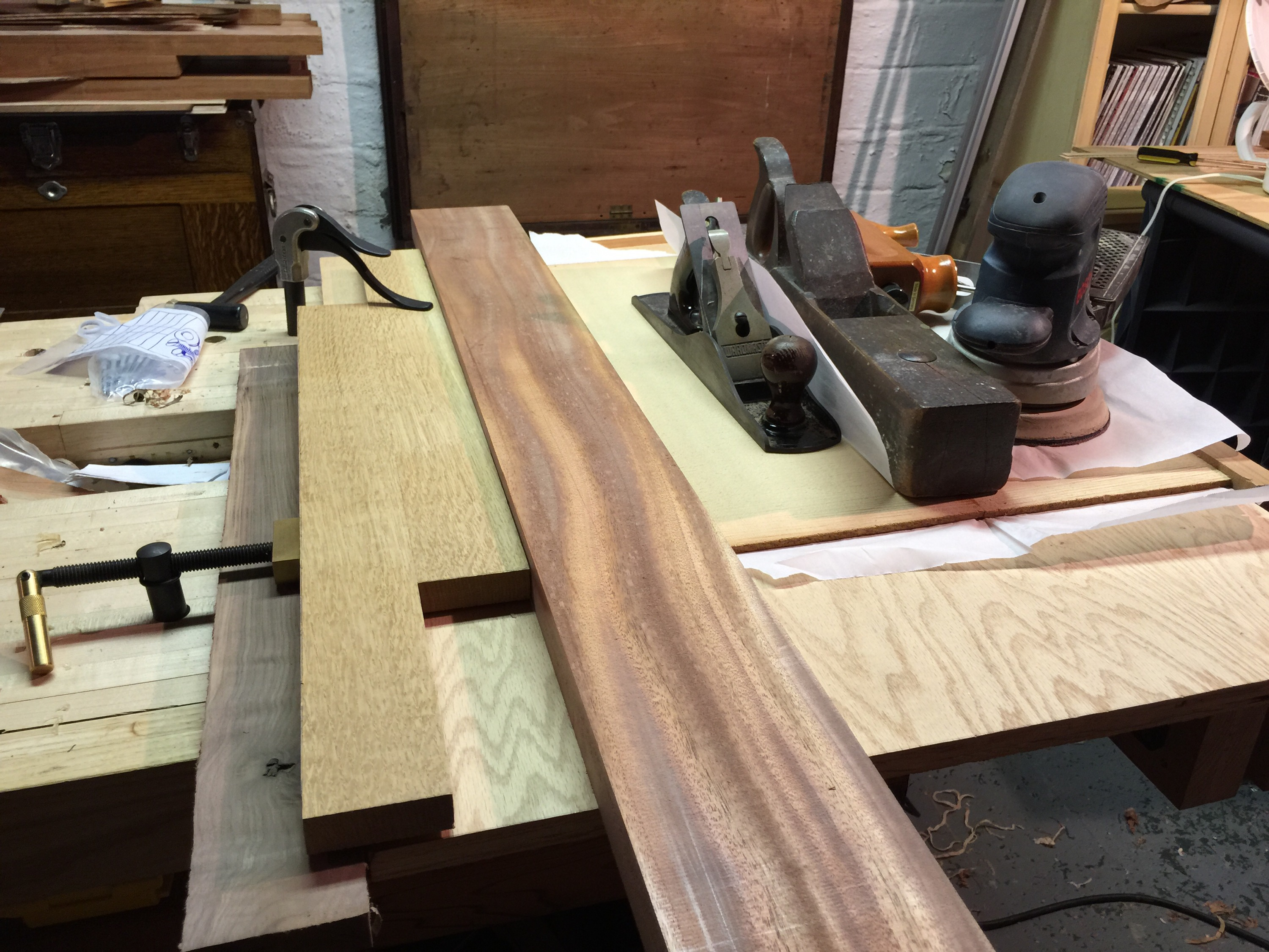 More smoothing tools as clamps...
