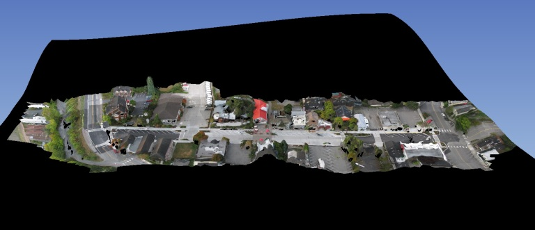 Textured mesh of Langley Dataset from Aaron Racicot