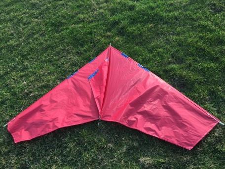 Kite on the ground