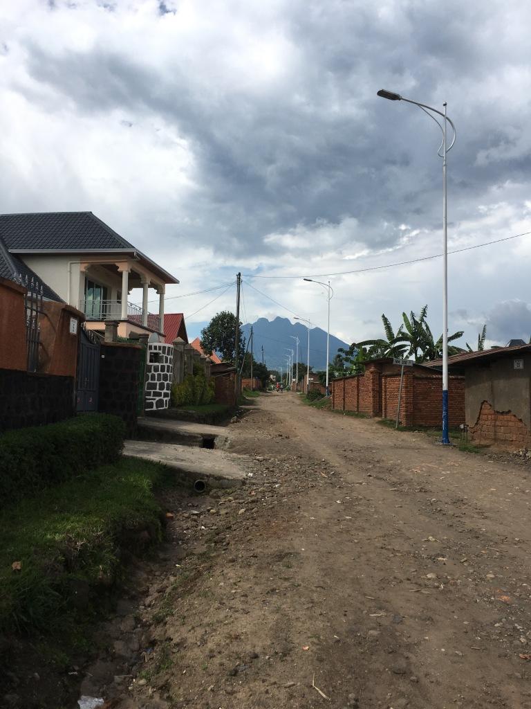 Mount Sabinyo over Musanze Town