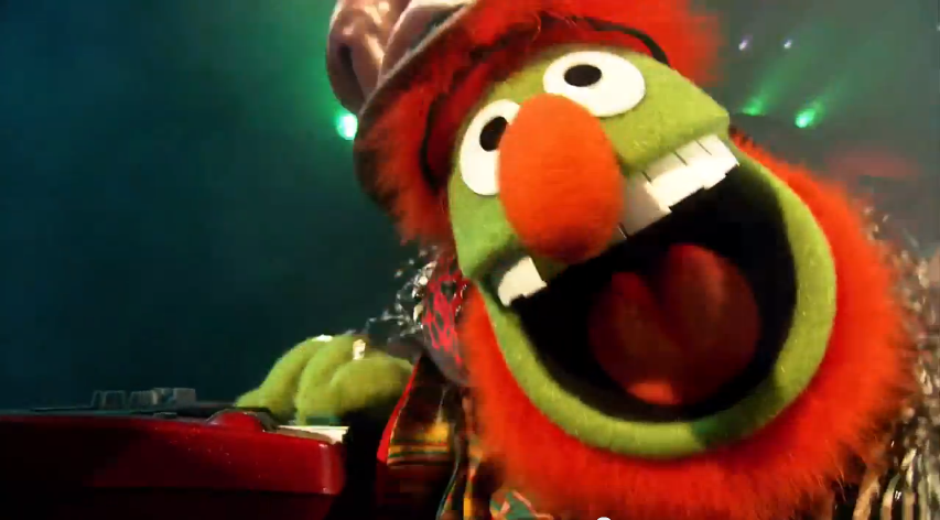 Image of Dr. Teeth of the Muppets.