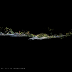 Point cloud of dataset 1