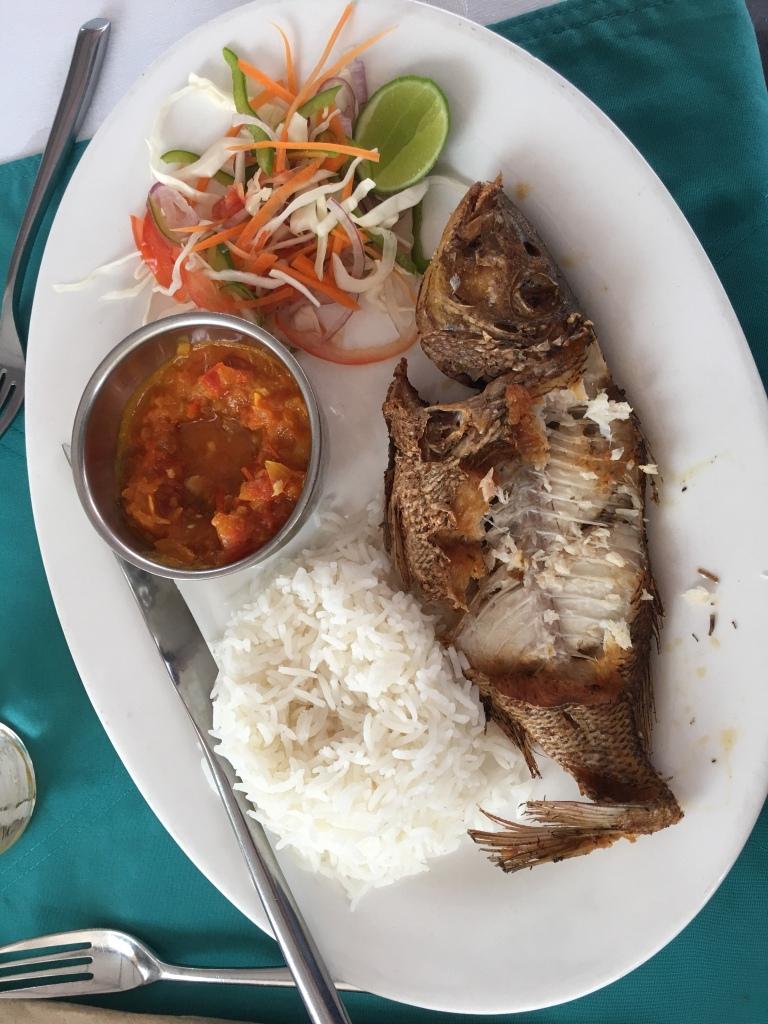 Swahili style fish