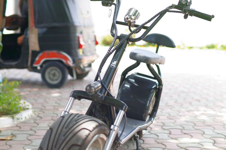 Image of the electric bicycle in question