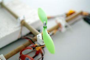 Foamy drone