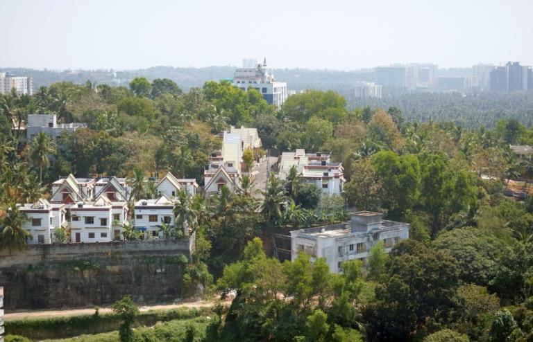 View over Trivandrum, Kerala